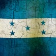 Stock Photo: Grunge Honduras flag