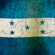 Grunge Honduras flag — Stock Photo