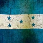 Grunge Honduras flag — Stock Photo