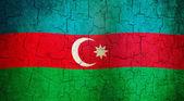 Grunge Azerbaijan flag — Stock Photo