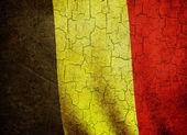 Grunge Belgium flag — Stock Photo
