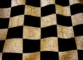Grunge chequered flag — Stock Photo