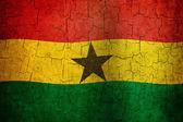 Grunge Ghana flag — Stock Photo