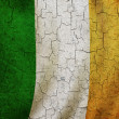 Grunge Ireland flag — Photo