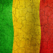 Grunge Mali flag — Stock Photo