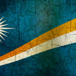 Grunge Marshall Islands flag — Stock Photo
