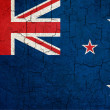 Grunge New Zealand flag — Stock Photo