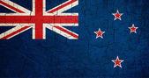 Grunge Nieuw-Zeeland vlag — Stockfoto