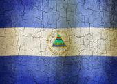 Grunge Nicaragua flag — Stock Photo