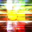 Abstract xmas party lights background — Stock Photo