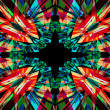 Colourful kaleidoscope background — Stock Photo #35349851