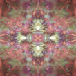 Stock Photo: Faded orange kaleidoscope background