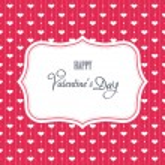 Sweet valentine card — Stock Vector