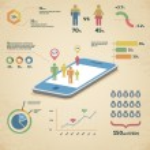 Vector infographics illustration — Stock Vector