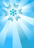 Blue_Christmas_Backround — Vector de stock
