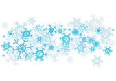 Snowflakes_background — Stock Vector