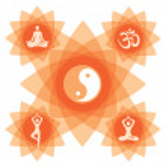 Yoga_decorative_background — Stock Vector