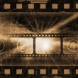 Royalty-Free Stock Photo: Old movie grunge background