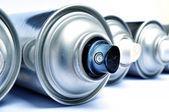 Aerosol cans — Stock Photo