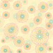 Seamless pattern of circles, colorful circles — Stock Photo #30282913