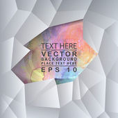 графика абстрактная 3d бумаги — Cтоковый вектор