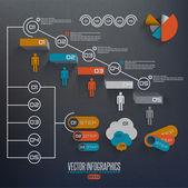 Grafika 3d sześcian wektor — Wektor stockowy