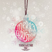 Christmas Greeting Card — Stockvector