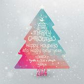 Christmas Greeting Card — Stock vektor