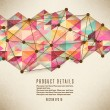 Retro pattern of geometric shapes — Wektor stockowy #40280669