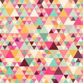 Retro mönster av geometriska former — Stockvektor