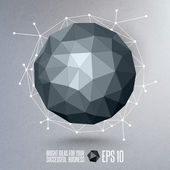 Abstract geometric vector illustration — ストックベクタ