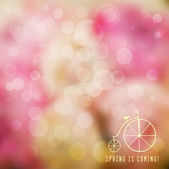 Bright mosaic spring background — Vector de stock
