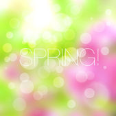 Bright mosaic spring background — Stock Vector