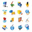 Stock Vector: Icons for technology
