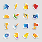 Icons for signs and metaphors — Stock Vector