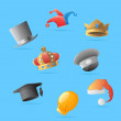 Royalty-Free Stock Vector Image: Icons for hats