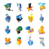 Icons for technology — Stock Vector