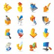Icons for retail commerce — Stock Vector