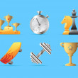 Icons for sport — Image vectorielle