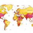 Vetorial Stock : World map