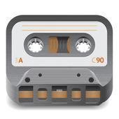Icon for audio cassette — Stock Vector