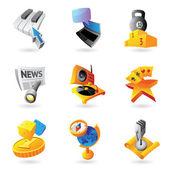 ícones para o seu lazer — Vetorial Stock