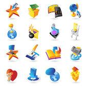 Symbole für Technologie — Stockvektor