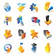 Royalty-Free Stock Vector Image: Icons for business and finance