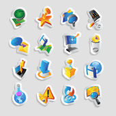 Icons for technology and interface — Stock Vector