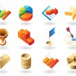 Icons for business abstract — Stock Vector #3050788
