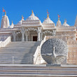 Hindu Mandir Temple made of Marble — Stock Photo