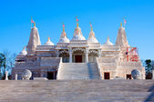 Hindu Mandir Temple made of Marble — Stock Photo