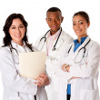 Happy smiling doctor physician team — Stock Photo #7129377