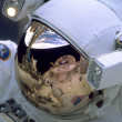 Reflections of outerspace - Stock Photo